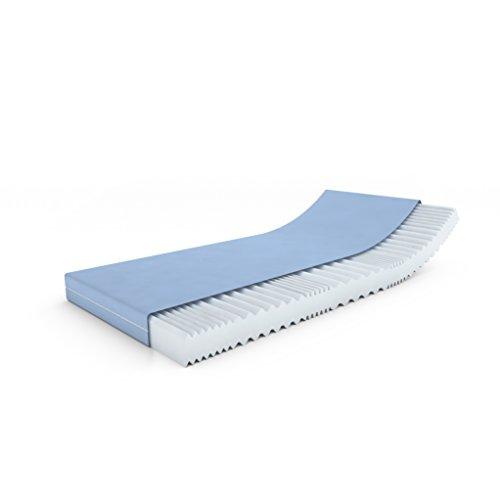MSS®VitalFoam®Wellness Matratze Memory Marken Kaltschaum / 140 x 200 cm / 7 Zonen