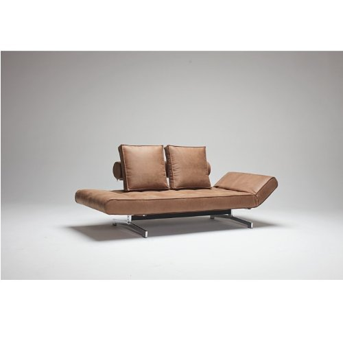 Innovation Schlafsofa Ghia braun