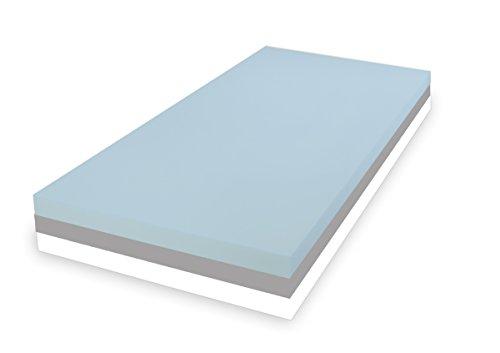 Dibapur ® 3 System: ca. 25 cm Höhe Matratze Orthopädische Kaltschaummatratze - SOFT MITTEL FEST - (90x200) x Kernhöhe ca. 24 cm , mit Standard Bezug - Made in Germany (Einkaufspreise bis 100 Stk. Verkauft sind!)