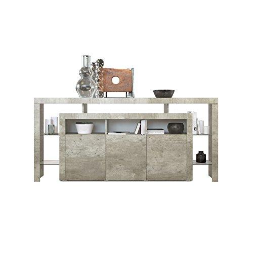 sideboard kommode rosario 192 in betonoptik m bel24. Black Bedroom Furniture Sets. Home Design Ideas