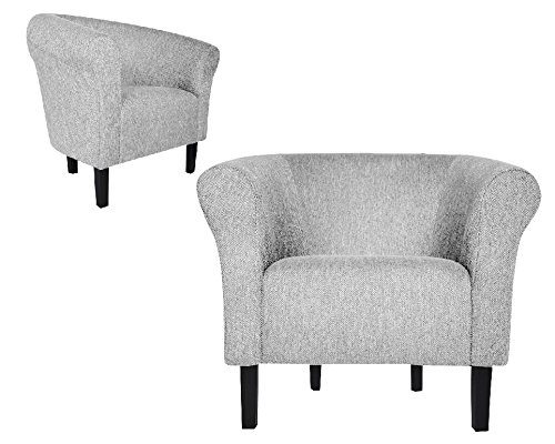 """FORTISLINE Clubsessel Loungesessel Cocktailsessel MONACO 2"""" FASHION Beige W364 15"""