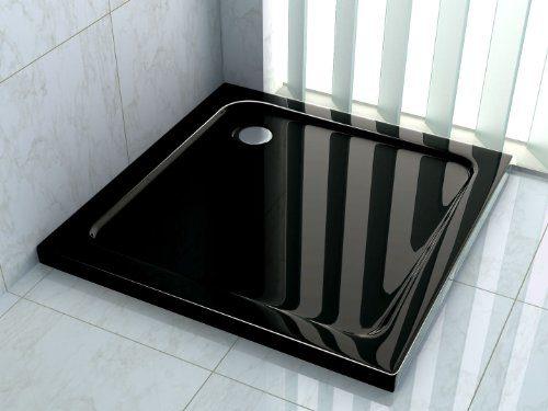 50 mm Duschtasse 80 x 80 cm (schwarz)