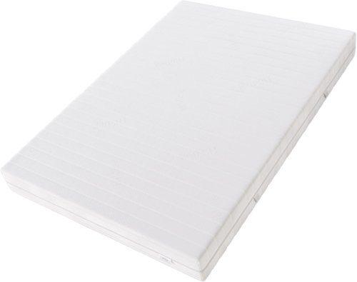 Hilding Sweden Multikern Kaltschaum Mittelfeste Matratze, für Alle Schlaftypen H2-H3, 200 x 200 x 21 cm, Schaumstoff, weiß