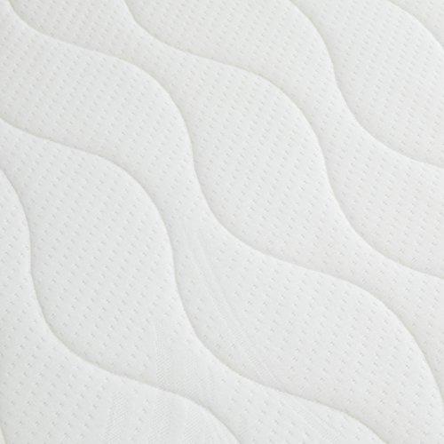 AmazonBasics Extra-Komfort Taschenfederkernmatratze mit Kaltschaum, wendbar, 140 x 200 x 21,5 cm