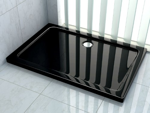 50 mm Duschtasse 100 x 90 cm (schwarz)