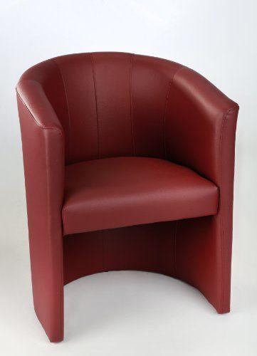 Design Cocktailsessel Sessel Clubsessel Loungesessel Club Möbel Bürosessel Praxismöbel bordeaux
