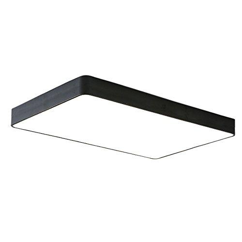 48W Warmweiß Platz Deckenleuchte Künstlerisches Design LED Deckenlampe 650 * 430 * 60 mm Kreative Modern Lampe für Wohnzimmer Schlafzimmer Küche Korridor Restaurant (48W Warmweiß)