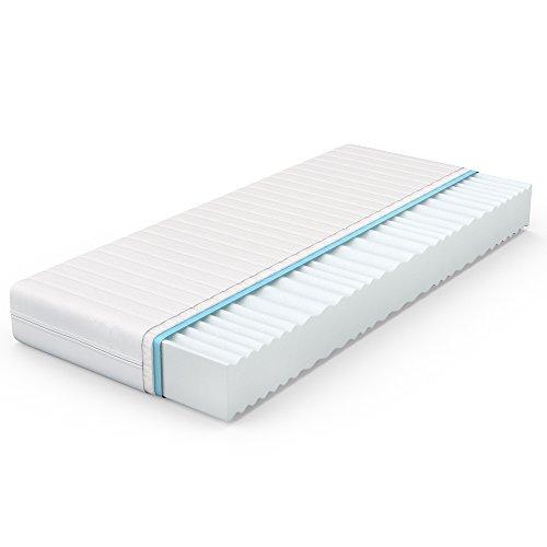 VitaliSpa® Calma Comfort Plus 7 Zonen Premium Kaltschaum Matratze (160 x 200 cm, H3 - 7 Zonen)