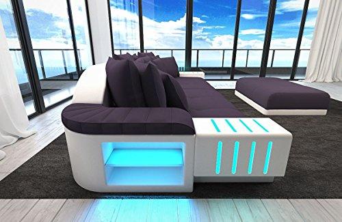 Sofa Bellagio als Modernes Bigsofa mit LED Licht