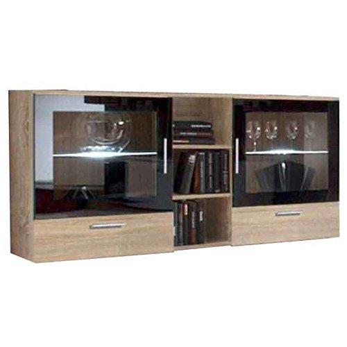 JUSTyou Lira Kommode Sideboard Wohnzimmerschrank (HxBxT): 82x150x40 cm Sonoma Eiche
