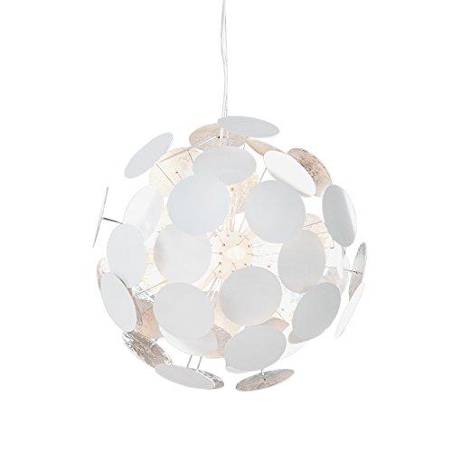 Design Hängeleuchte INFINITY HOME weiß silber Pendelleuchte Lampe Beleuchtung