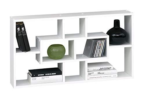 SB-Design 289-001 Regal Lasse B/H/T ca. 85 x 47,5 x 16 cm weiß
