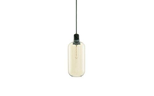Normann Copenhagen Amp Hängeleuchte - gold/grün - L - Simon Legald - Design - Deckenleuchte - Pendelleuchte - Wohnzimmerleuchte