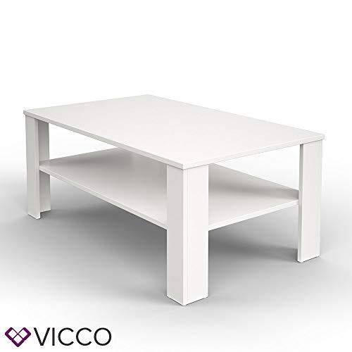 Vicco Coffee Table Living Room Table White Sofa Table Side Table
